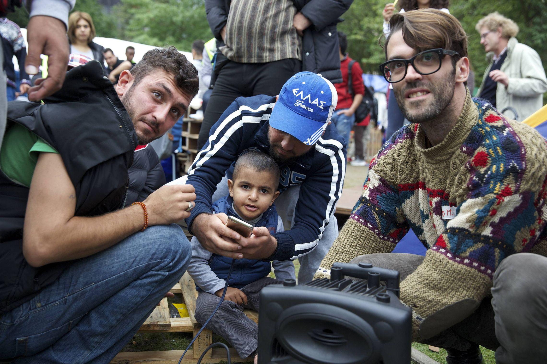 De Gezinsbond wijst er op dat kinderen van asielzoekers het sowieso al erg moeilijk hebben om hier een toekomst uit te bouwen. (foto belga)