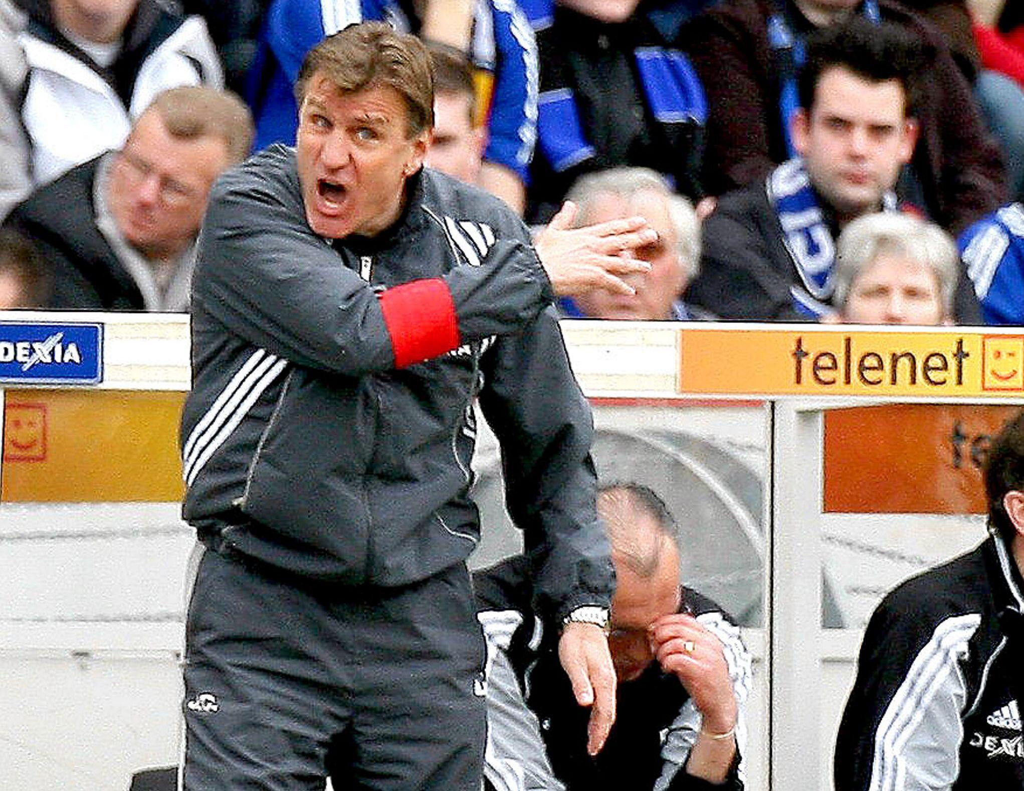 Jan Ceulemans heeft zijn ontslag bij 'zijn' Club nog altijd niet goed verteerd.