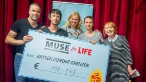 #MuseForLife bracht bijna 200.000 euro op.