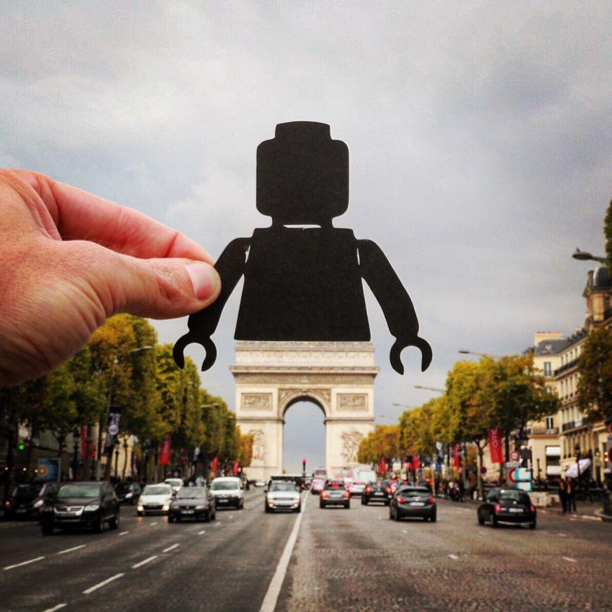 Arc De Triomphe - Parijs
