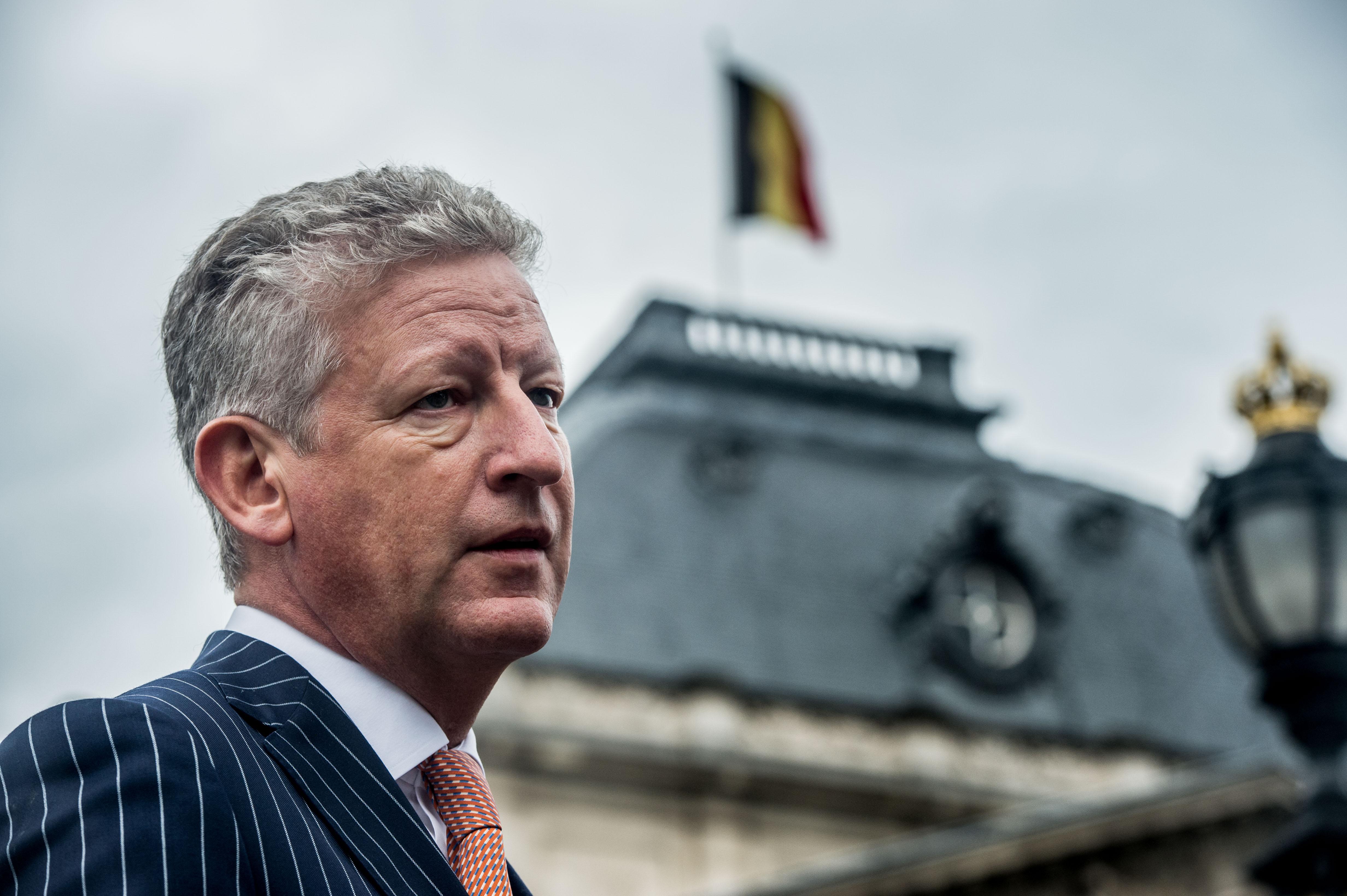 """Pieter De Crem: """"België levert geen rechtvaardige bijdrage meer wat Defensie betreft. Het is een illusie te denken dat we hiermee wegkomen."""" (foto belga)"""