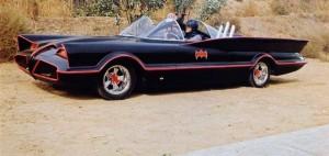 De Batmobile '66.
