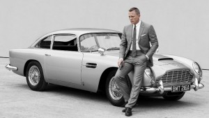 De Aston Martin DB5 is de bekendste Bondcar.