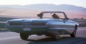 Geen roadmovie zonder een mooie wagen.
