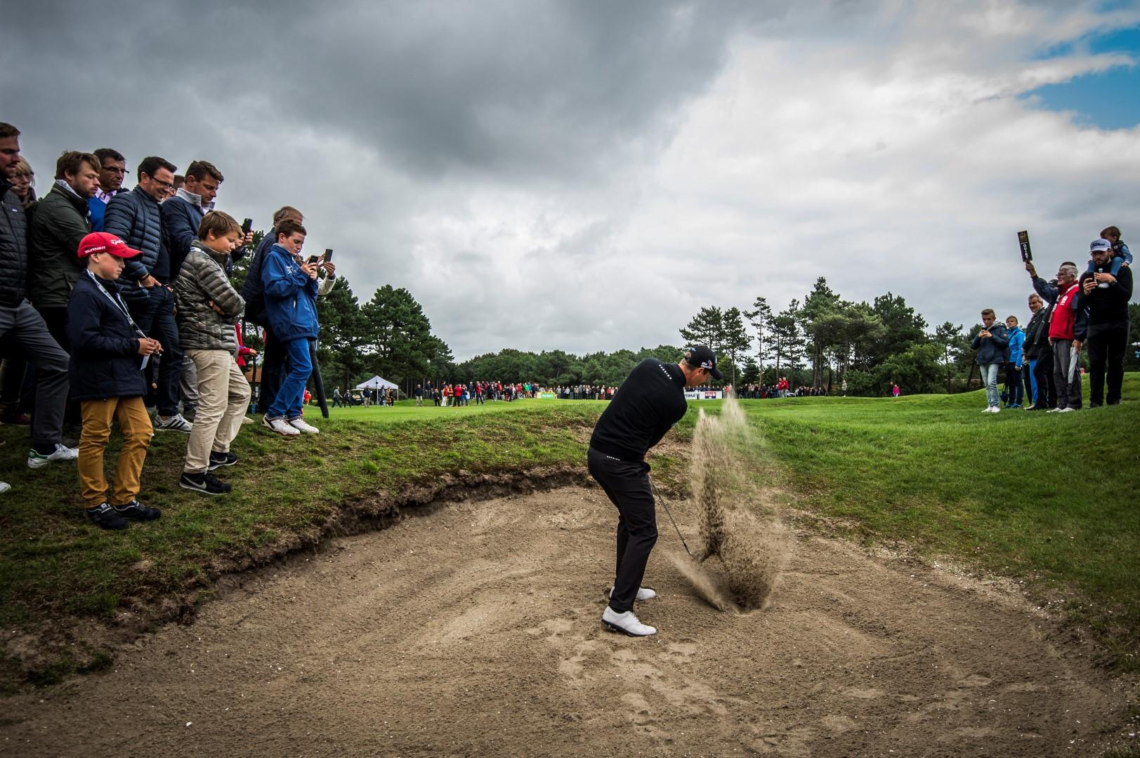 """Nicolas Colsaerts: """"Ik rook terwijl ik golf: dat is mijn enige gebrek."""" (foto belga)"""