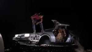 De DeLorean kon ook vliegen.