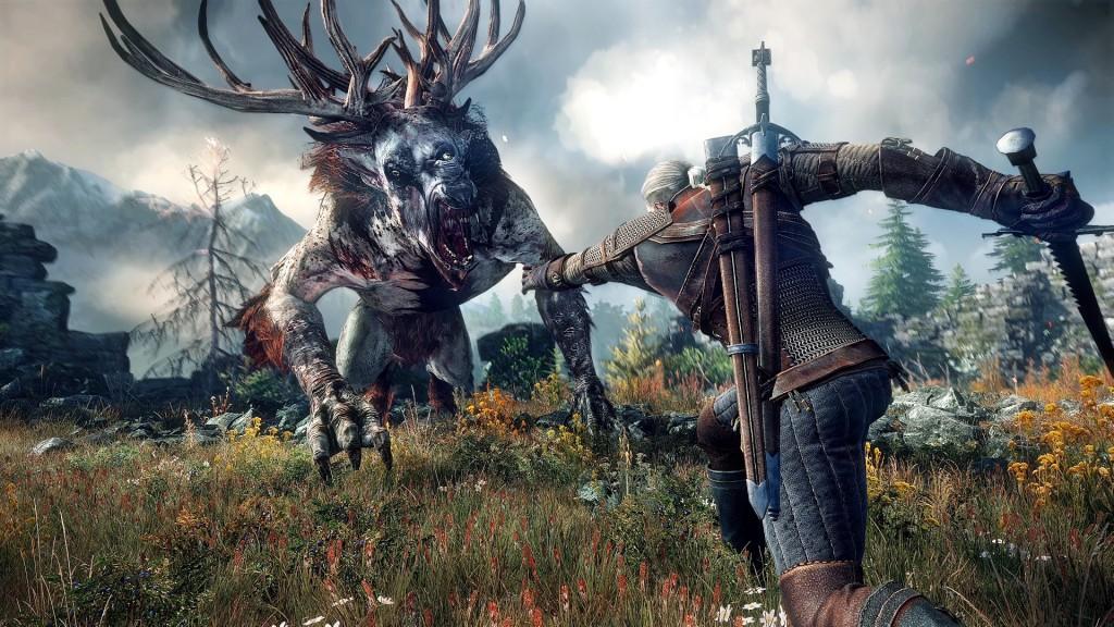 Iedere jager doet het in zijn broek, voor Geralt of Rivia is het gewoon dinsdag.