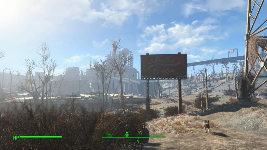 Zonnige groeten uit de Wasteland.