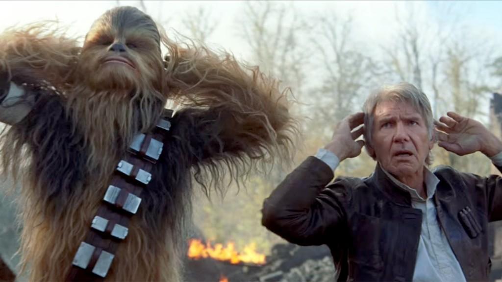 Star Wars: The Force Awakens Trailer.
