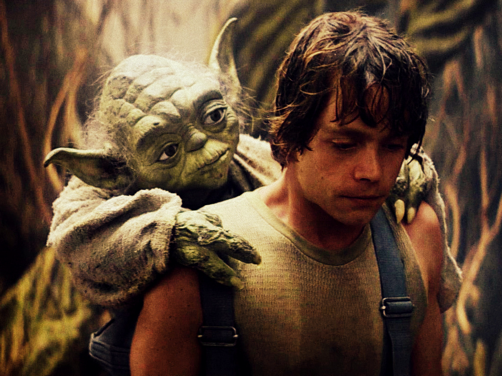 yoda empire strikes back wallpaper - photo #3