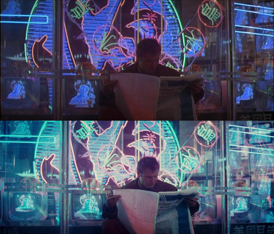 'Blade Runner' is een transfer waar regisseur Ridley Scott zeer nauw bij betrokken was.
