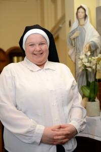 Zuster Marie-Madeleine. (foto Luc Gordts)