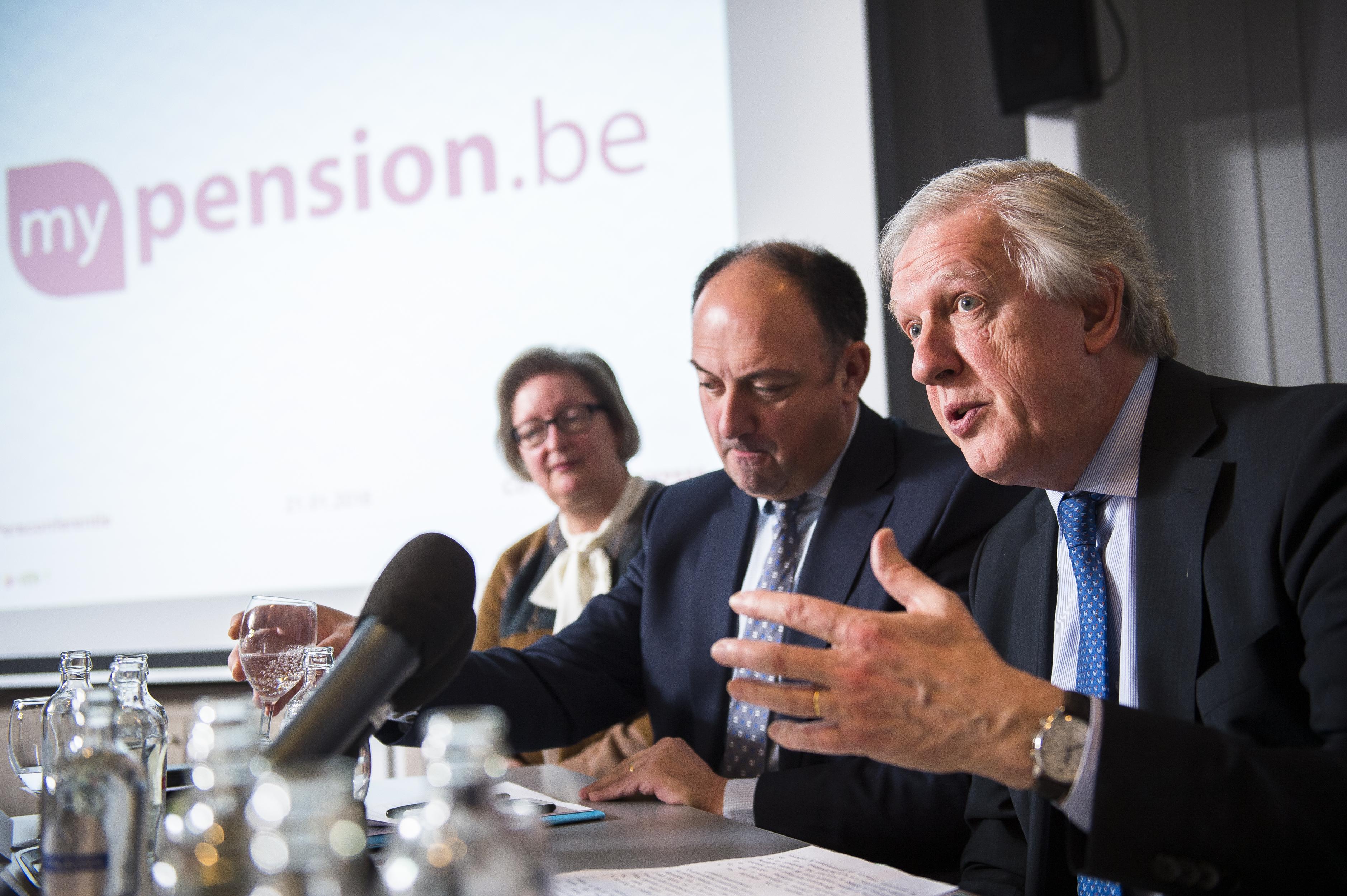BELGIUM POLITICS PRESENTATION NEW WEBSITE MYPENSION