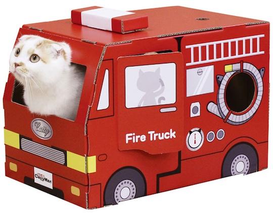 cat-fire-truck-house