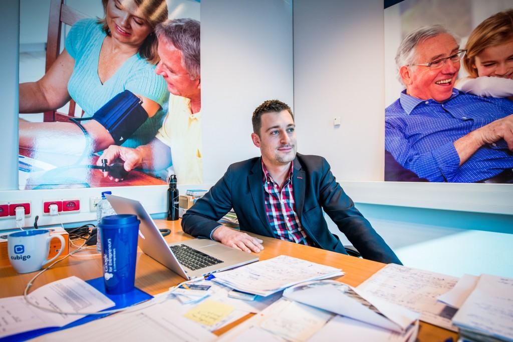 Geert Houben, alumnus van UHasselt is CEO van Cubigo.
