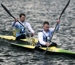 De Watersportbaan vormt het strijdtoneel voor kajakkers. (foto Didier Dragonetti)