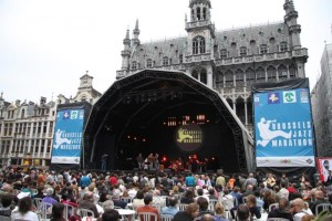 In Brussel kun je op vier pleinen gratis genieten van jazz. (foto grf)