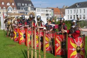 Snuif de Romeinse sfeer op in Oudenburg. (foto grf)