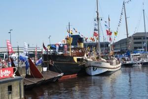 Heel wat schepen meerden aan in Oostende. (foto grf)