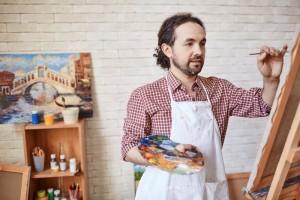 Heel wat amateurkunstenaars zetten hun atelier open. (foto istock)