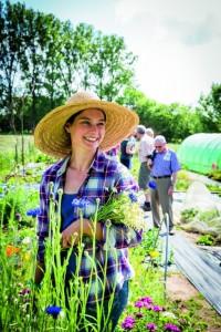 Maak kennis met de ecologische tuinen. (foto Velt)