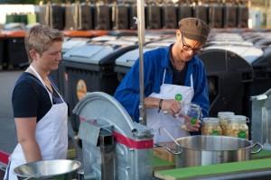 Onder andere 'Waste Cooking' van David Gross neemt deel aan de filmcompetitie. (foto grf)