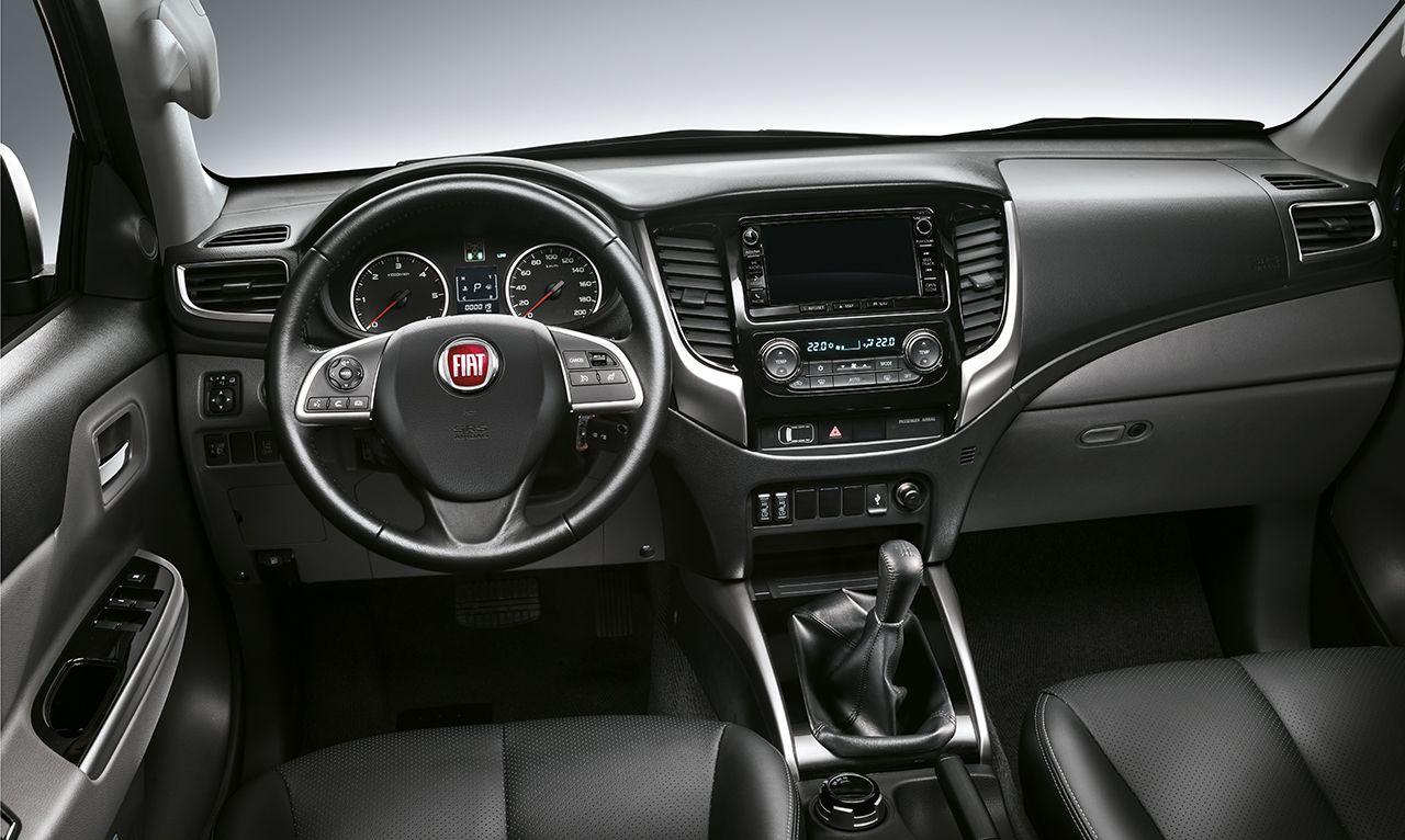 Met het Lusso-pack is de Fiat Fullback LX voorzien van heel wat comfortitems