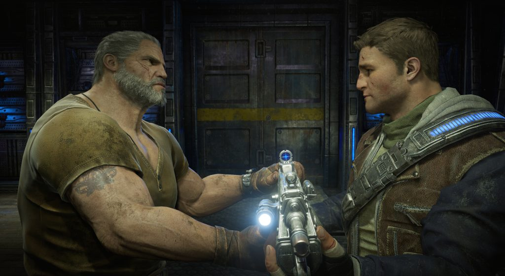 Grumpy ol' Marcus geeft de fakkel over aan zijn zoon J.D.