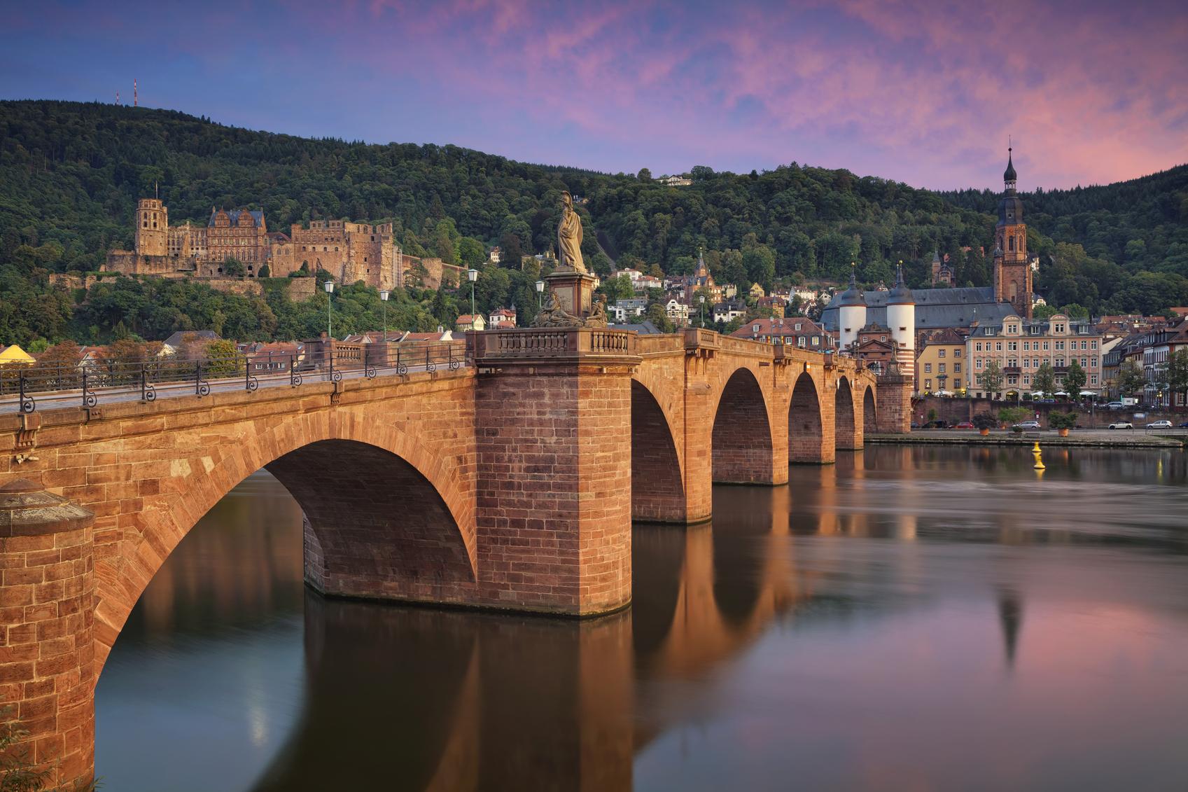 Heidelberg: kan het nog romantischer? (foto istock)