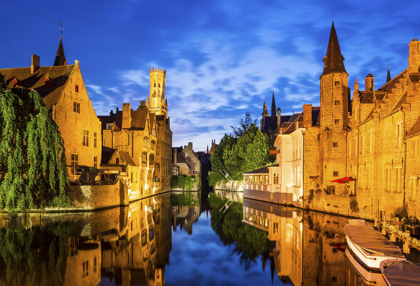 Jawel, ook ons eigenste Brugge prijkt op de op één na hoogste plek. (foto istock)