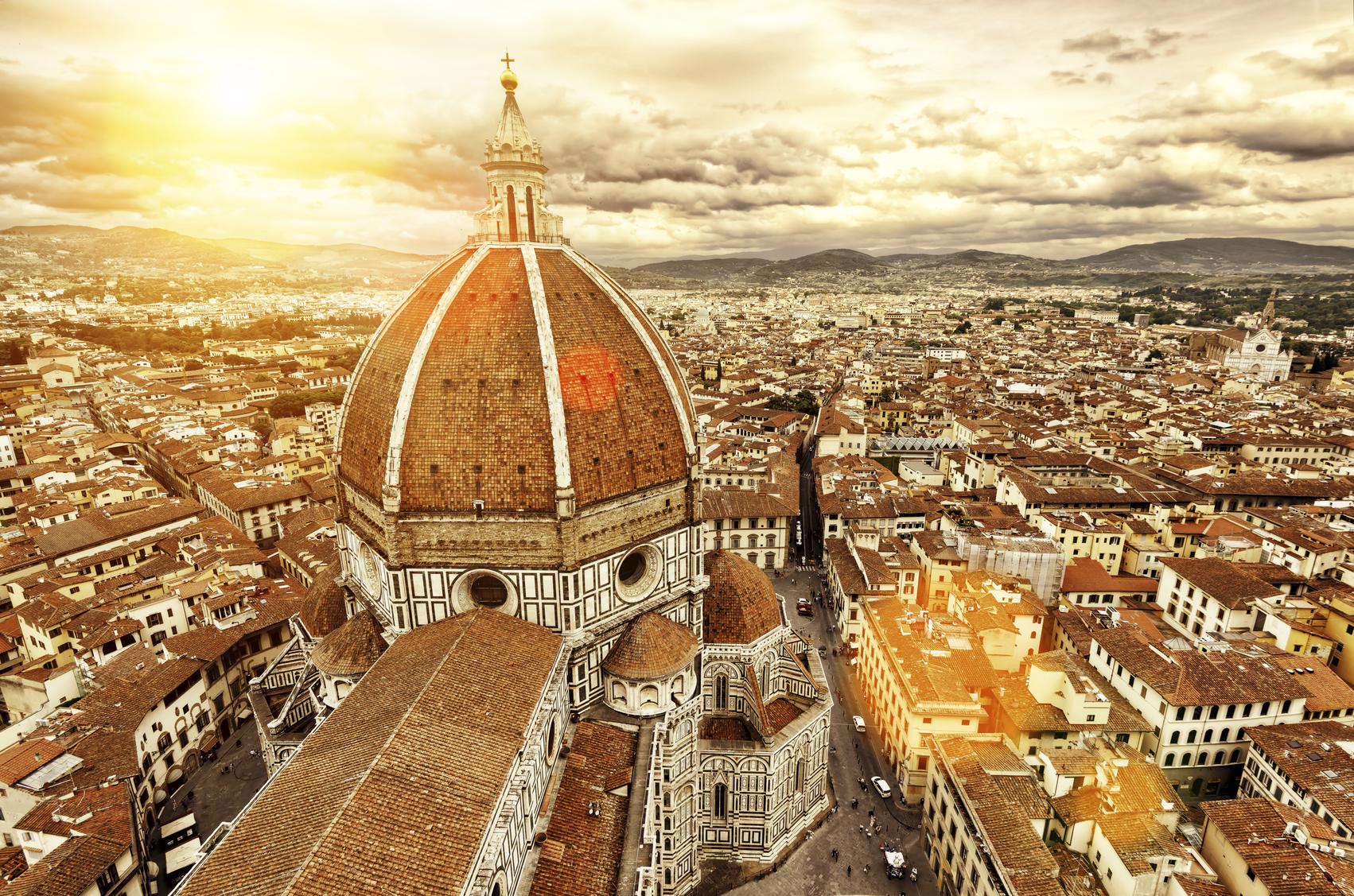 Firenze is ongetwijfeld één van de meest romantische steden ter wereld. (foto istock)