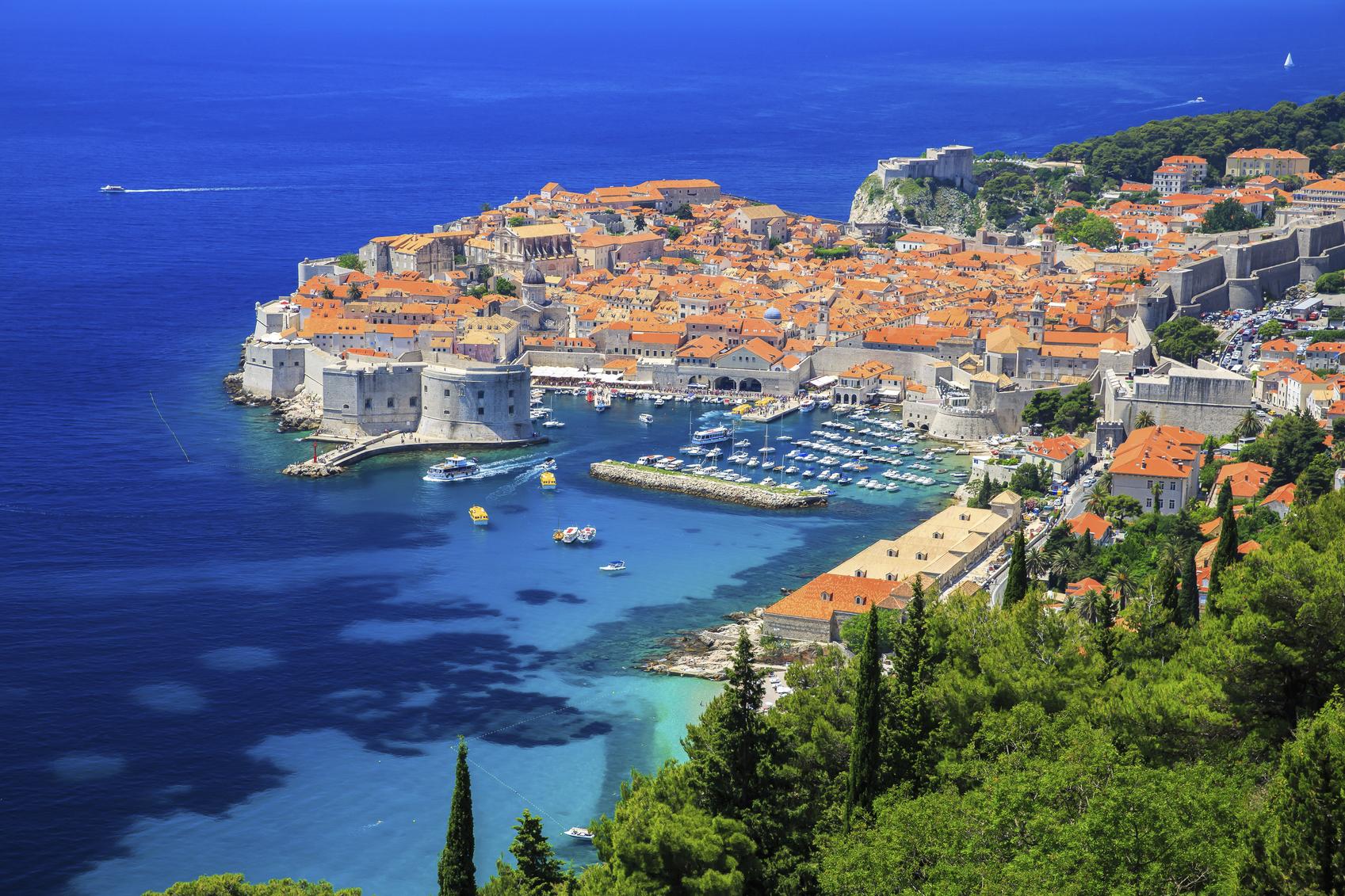 Kroatië staat garant voor heel wat adembenemende uitzichten. (foto istock)