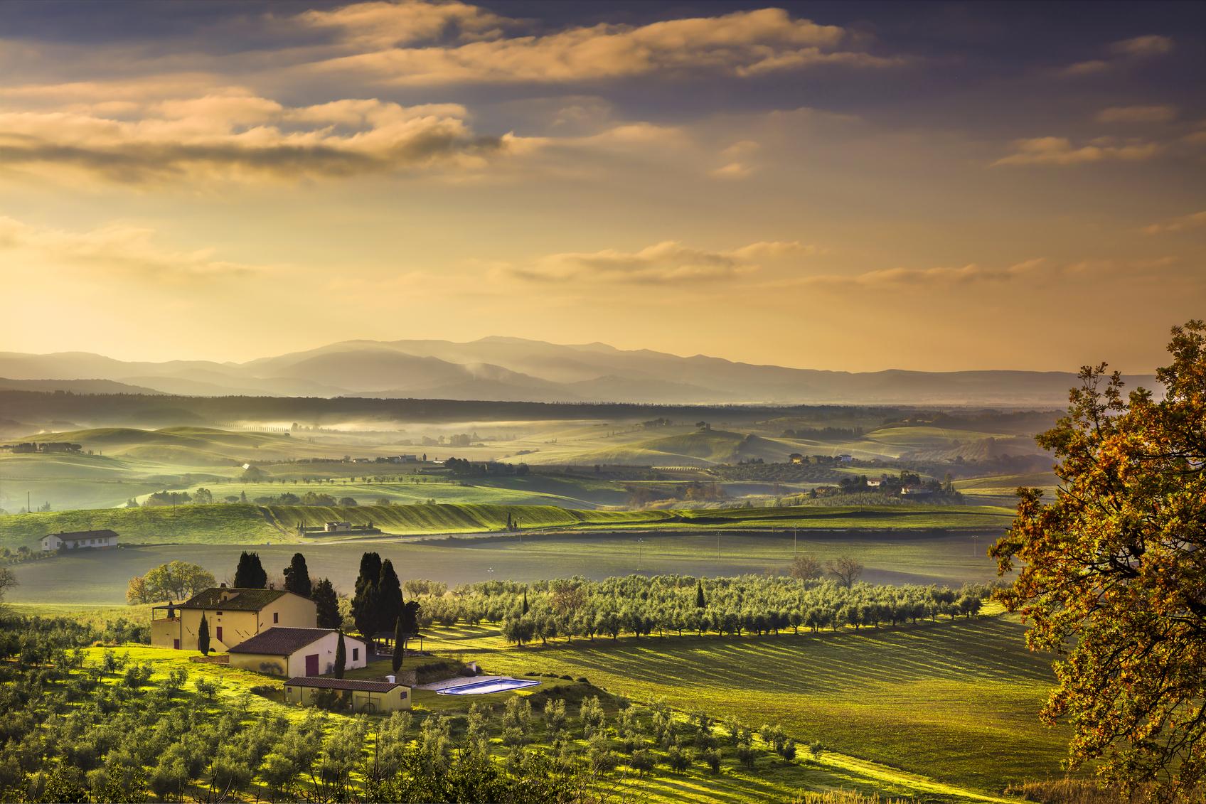 Verken Toscane met de auto. (foto istock)