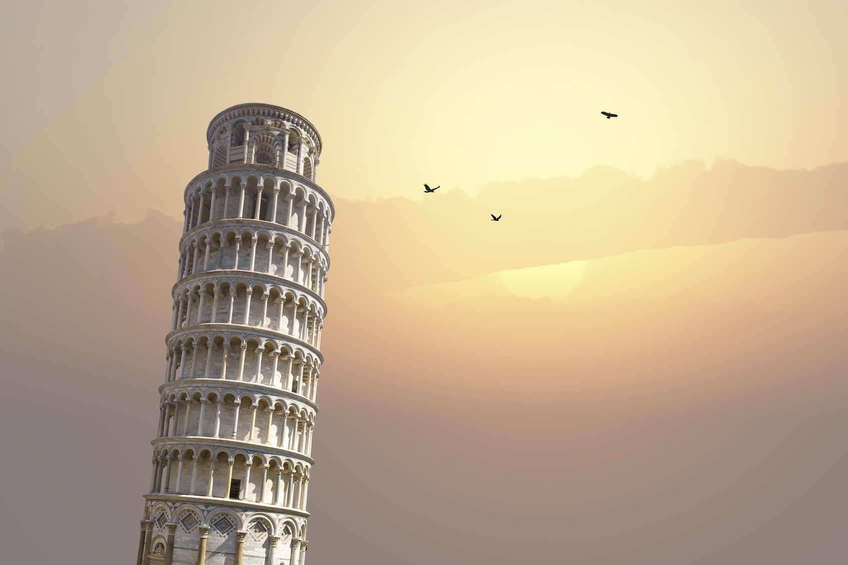De toren van Pisa moet je toch minstens één keer in je leven gezien hebben. (foto istock)