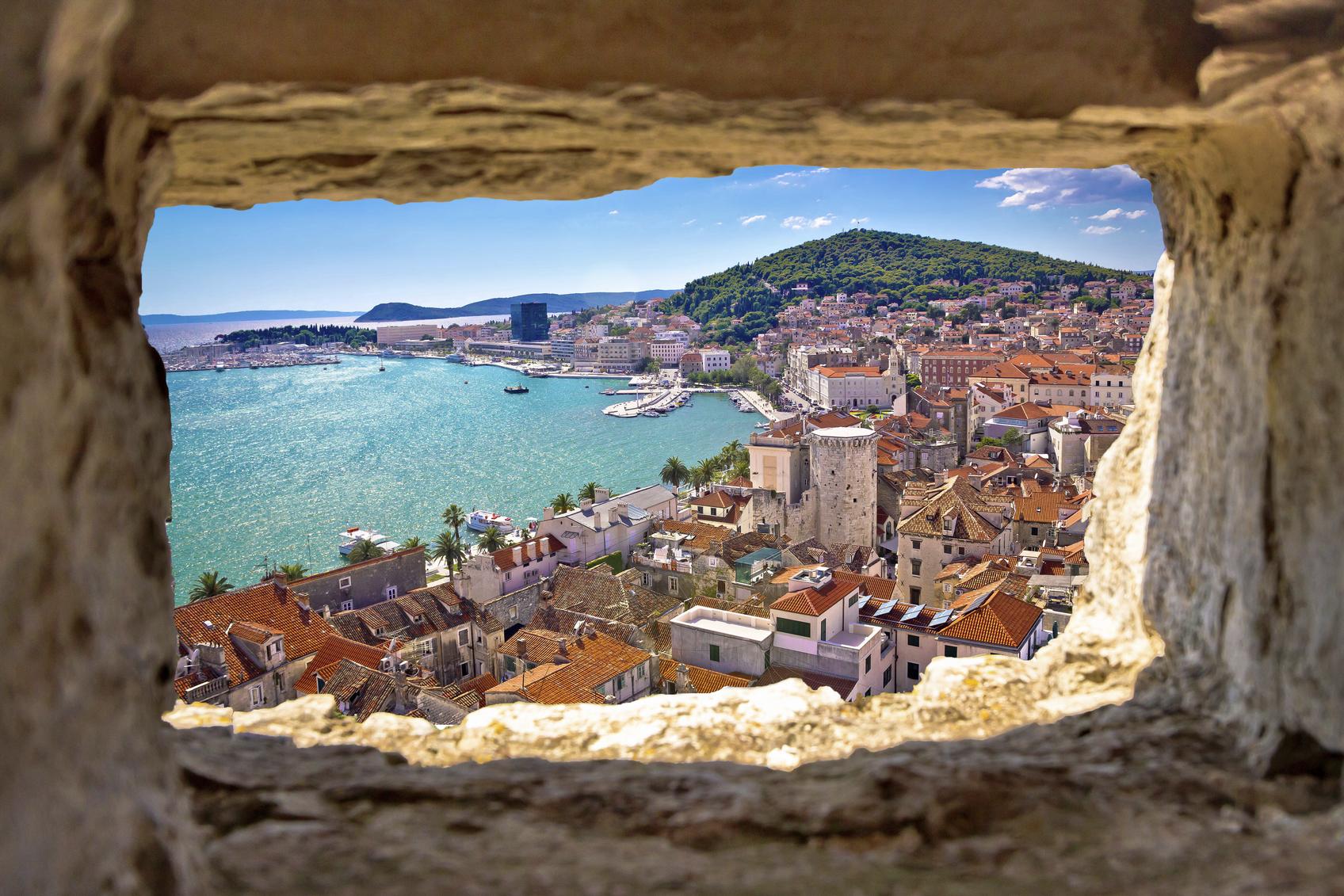 De prachtige omgeving van Split. (foto istock)