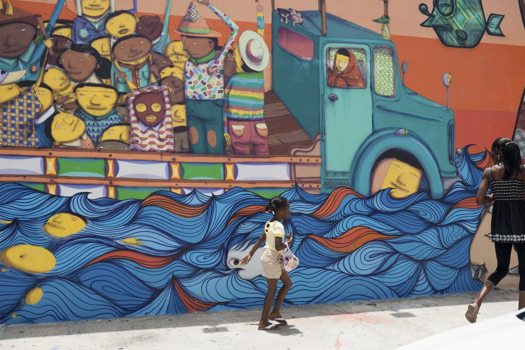 Wynwood in Miami is dé hoofdstad van de streetart. (foto istock)