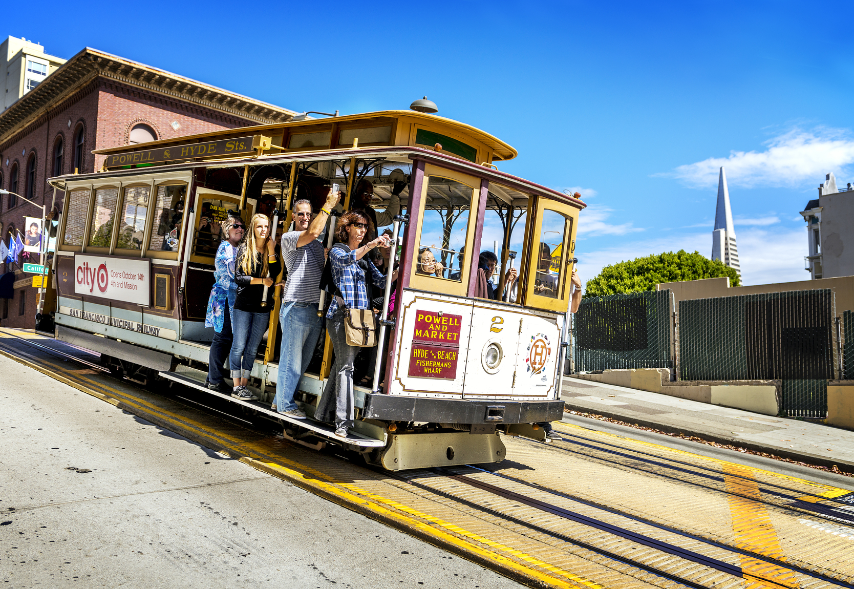 De wereldberoemde trolley in San Francisco. (foto istock)
