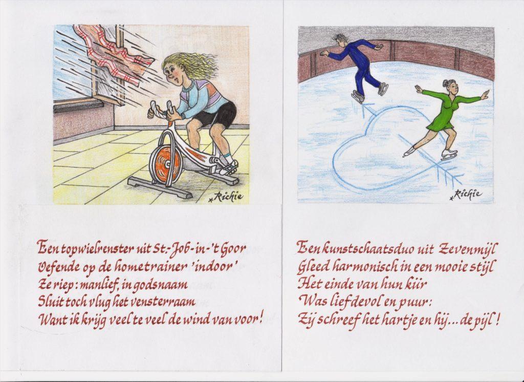 Wielrennen Kunstschaatsen De Zondag