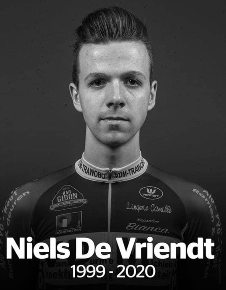 Drama in Wortegem-Petegem: wielrenner Niels De Vriendt (20) overlijdt aan hartfalen