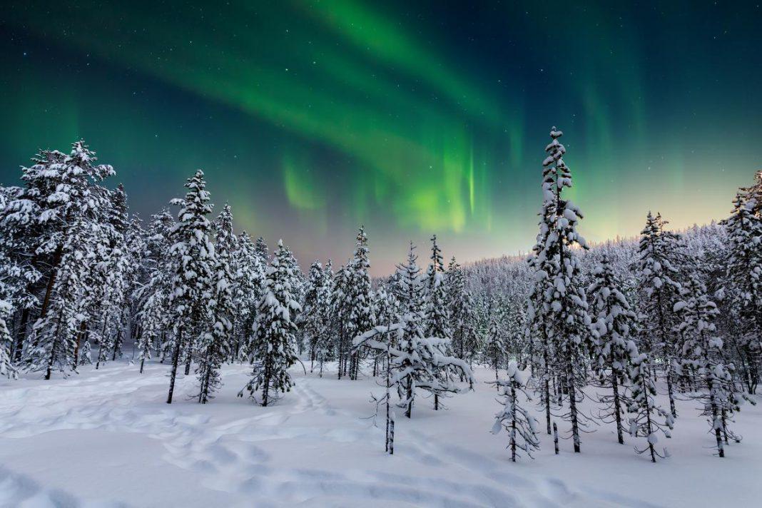 Die schone die al menig toeristhart sneller heeft doen slaan: Aurora Borealis, beter bekend als het noorderlicht. (GF)  © Anton Petrus   Getty Images