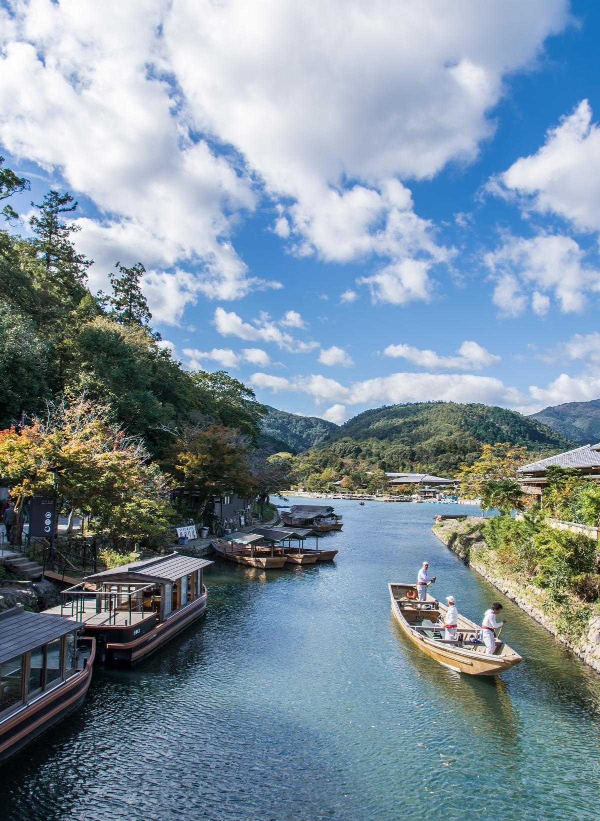 Overweldigende natuurpracht in Arashiyama. (foto SB) ©sbedaux