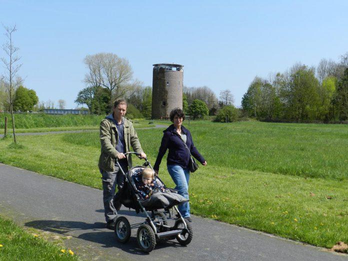 De Maagdentoren, aan de oever van de Demer, is één van de plekjes gelinkt aan het beroemde boek. (foto maf)