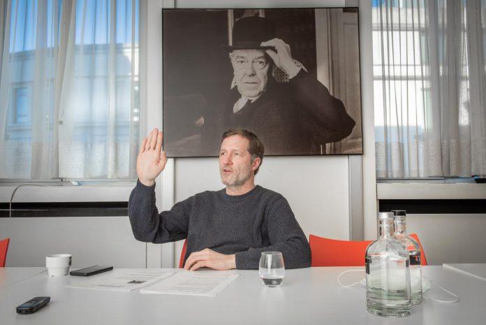 """Paul Magnette over het premierschap: """"Opnieuw een Waalse premier, een linkse socialist dan nog, zou te veel van het goede zijn."""" (foto Christophe De Muynck)"""