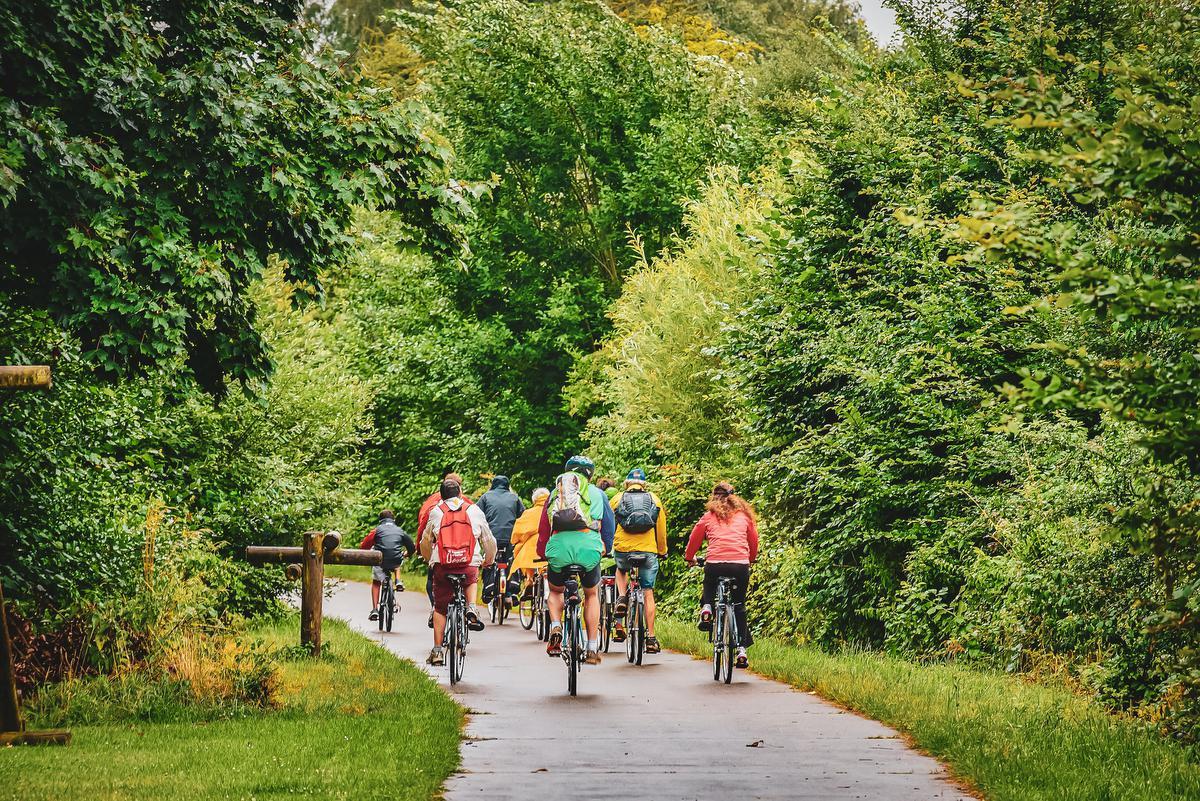 Waals-Brabant is een paradijs voor fietsers. (foto TLM Photography)