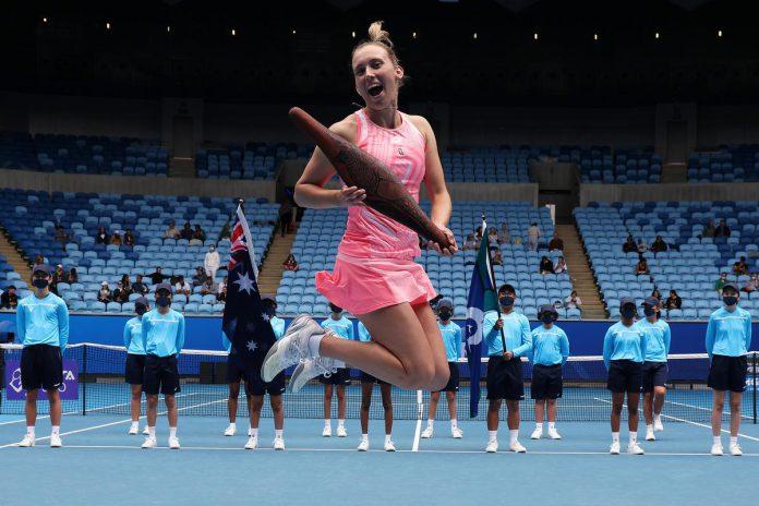 Elise Mertens speelt vanaf morgen de belangrijke Miami Open, ook wel de vijfde Grand Slam genoemd. (foto Getty)© Getty Images