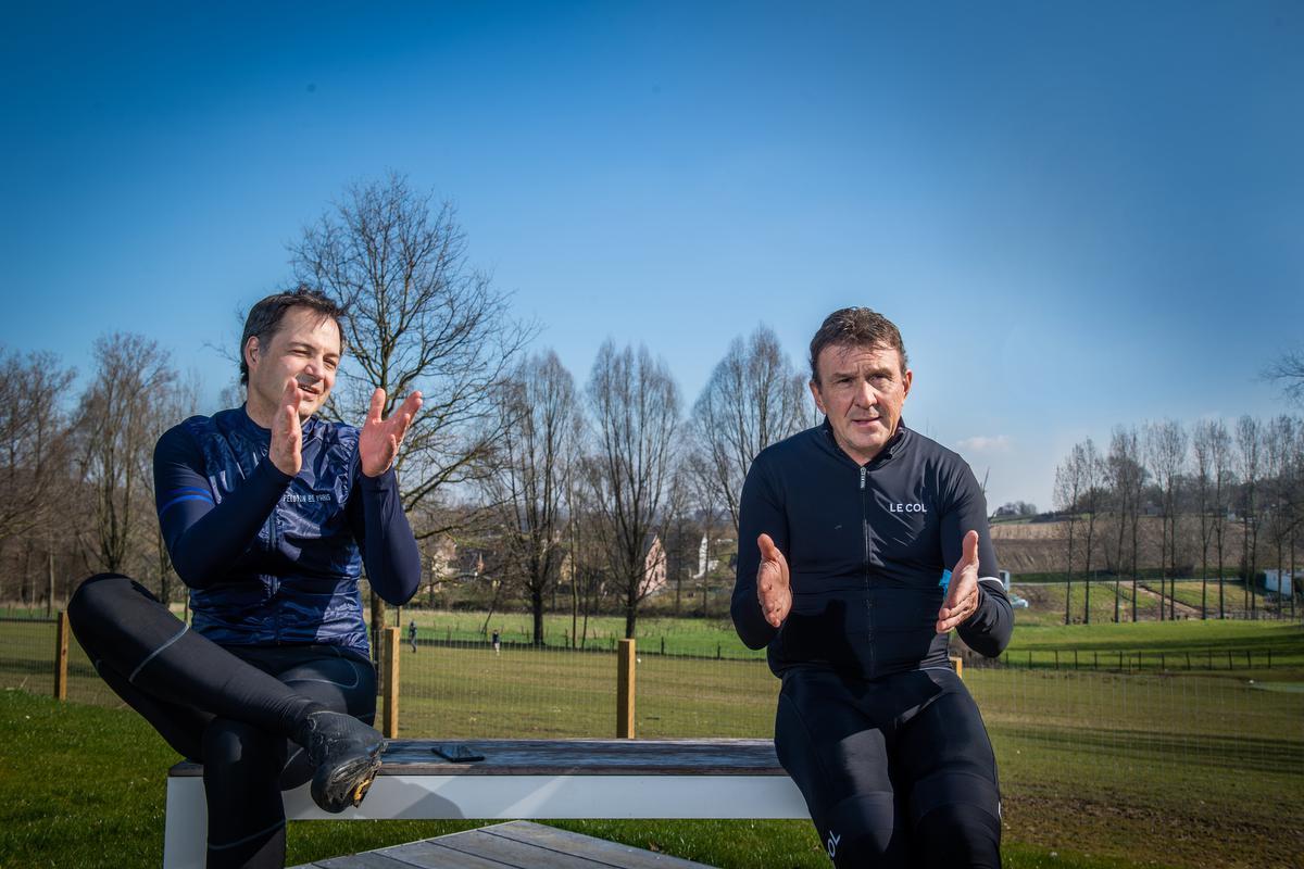 """Premier Alexander De Croo: """"Als corona ons iets geleerd heeft, is het wel dat we niet naar Italië of Frankrijk moeten gaan om prachtige landschappen tegen te komen."""" (foto Kris Van Exel)©Kris Van exel Kris Van Exel"""