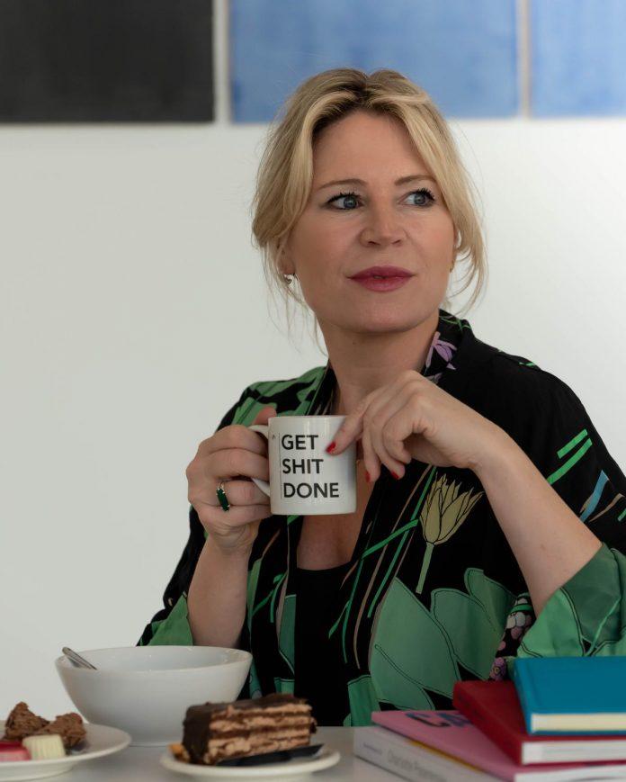 """Sofie Van de Velde: """"Het mooie aan 'Stukken van Mensen' is dat het enorm drempelverlagend werkt richting kunst en design."""" (foto sbedaux)©sbedaux"""