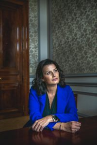 Stephanie D'Hose. (foto Christophe De Muynck)