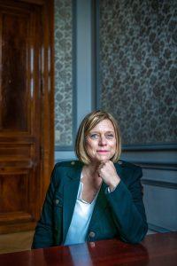 Éliane Tillieux. (foto Christophe De Muynck)