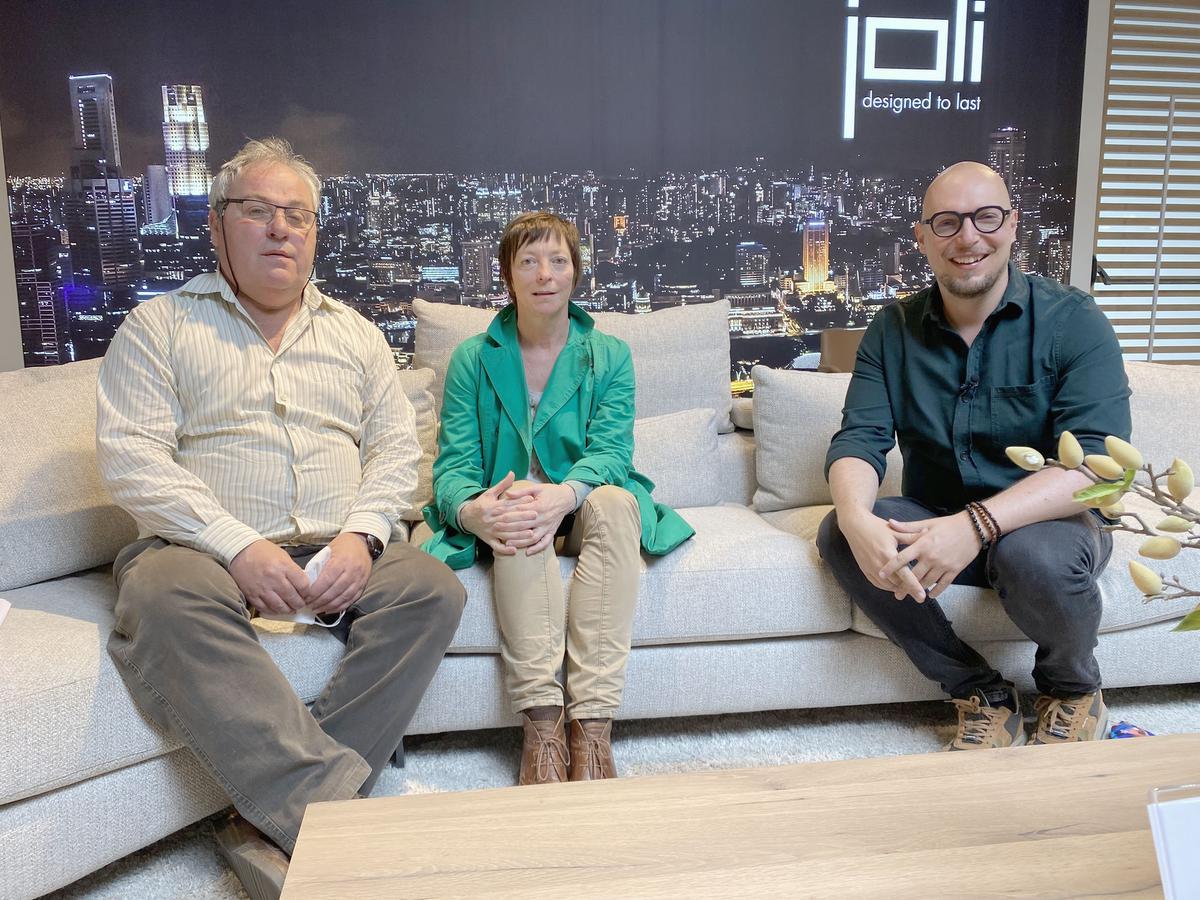 Stefaan Vos en Jeannine Coekaerts uit Tielt-Winge waren na de tête-à-tête met Bart Appeltans heel enthousiast over de vele bruikbare tips die ze aangereikt kregen.